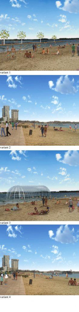 365 dagen zwemmen in de Zevenhuizerplas, onderzoeksproject