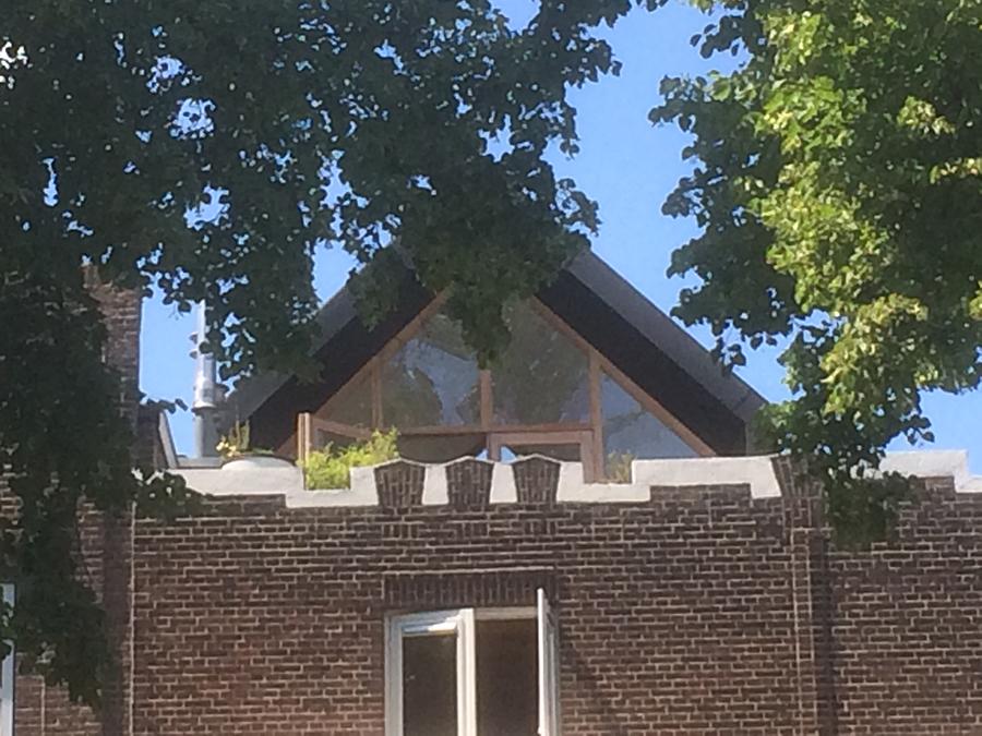 dakopbouw exercitiestraat 18 Rotterdam dakkamer
